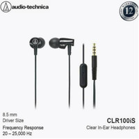Audio Technica ATH-CLR100iS In-Ear In-Line Mic- Garansi Resmi Axindo