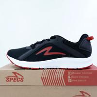 Sepatu Running/Lari Specs Lightstreak Black White 200652 Original BNIB