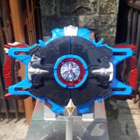 DX Ultraman R/B Rosso Blu Gyro KW / No Original / Alat Berubah Senjata