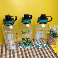 (Tera 2lt) botol minum #herbalife jumbo ukuran 2 liter untuk olahraga