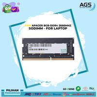 APACER SODIMM DDR4 8GB (1x8GB) 2666Mhz