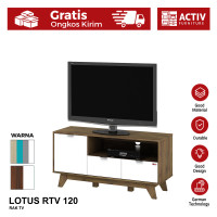 Activ Rak TV Medium Minimalis / Meja TV Modern / LOTUS RTV 120