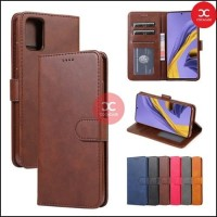Flip Case Wallet Leather Realme C20 Leather Case Dompet Flip RealmeC20