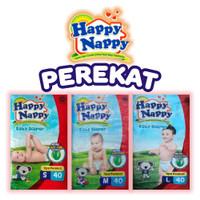 Happy Nappy S40/ M40/ L40 Baby Diaper Tape Perekat Standar Murah