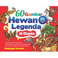 buku 60 Gambar Hewan Legenda di Dunia Laksana Kidz ori