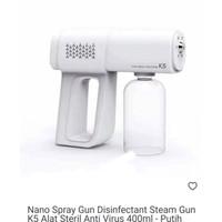 Nano Spray Gun Disinfektan K5 (Ready Awal Aug)