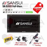 doubledin sansui +kamera+antena tv mobil avanza agya innova calya