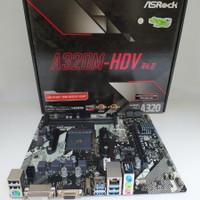 ASRock A320M - HDV (AM4,AMD Promontory A320, DDR4,SATA3) Garansi Resmi