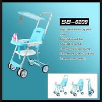 Baby Chair Stroller Spacebaby SB 6209 Kursi Makan Bayi