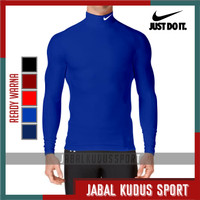 Baju Daleman Pakaian Manset Baselayer Olahraga Training Futsal Bola