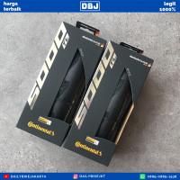 BAN LUAR CONTINENTAL GP5000 TL 700X28C TUBELESS BLACK FOLDABLE SKIN