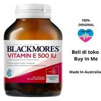 Promo Vitamin E 500Iu Blackmores Natural E 150 Capsule -Balckmores