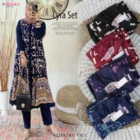 New Lyra Set Setelan Celana Wanita Baju Hangout Modis Casual by Alila