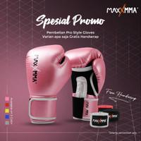 MaxxMMA Pro Style Boxing Gloves for Men & Women (GB01S)