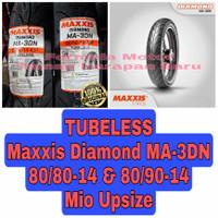 Maxxis 80/80-14 & 80/90-14 Diamond MA 3DN Sepasang Ban Motor Matic R14
