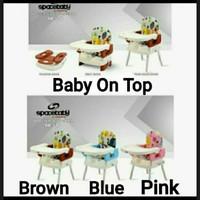 Booster Seat Spacebaby SB 518 Kursi Makan Space Baby