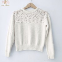 Thrift Blouse Kaos Rajut Wanita Atasan Knitwear Import Premium - GK004