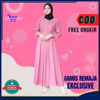 Baju atasan Gamis Wanita Muslim Sandira Dress Cantik Murah Terbaru