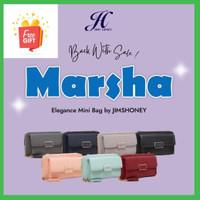 Jims Honey-Marsha mini bag 2 in 1-Tas dan Dompet Wanita-Tas selempang - Merah