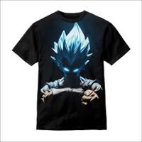 Baju Anak Kaos Anak Anime 3D Dragon Ball Goku 3D - S - S