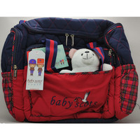 Tas Perlengkapan Bayi Baby Scots Boneka Besar ISEDB011Original - Biru