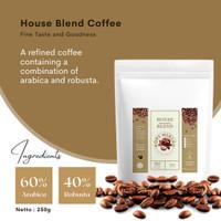 Kopi Miring Coffee House Blend Arabica / Arabika Robusta Bubuk 250 gr