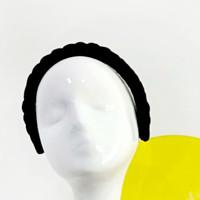 Braided Headband   Bando Kepang   Bando Stylish - Hitam