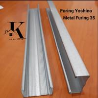 Rangka Furing / Metal Furing Yoshino 35 / Furing Sistem / Plafon
