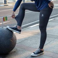 Celana Panjang Legging Sport Outdoor Quick Dry Columbia not puma nike - Abu-abu, L