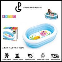 Intex Kolam Renang anak Intex whale- Kolam Anak 1.63x1.07x46cm - 57482