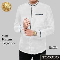 14747 14751 14755 KOKO TOYOBO/BAJU KOKO PRIA LENGAN PANJANG TERMURAH T - Putih, M