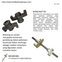 Jual Wing Nut92+formwork bekisting+baut Untuk Tie Rod 16 mm