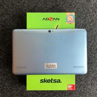 Advan Tablet Sketsa 10 inch 4/32 GB Biru Garansi Resmi (Ex Review)