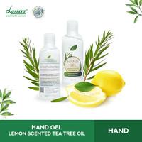 Hand Sanitizer Gel Lemon Scented Tea Tree Oil