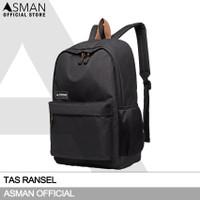 Asman Authentic - Tas Ransel Sporty Pria Wanita AT593
