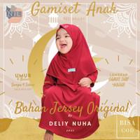 Setelan Baju bayi Muslim Gamis Anak Perempuan Usia 6 Bln 1 2 3 4 Tahun