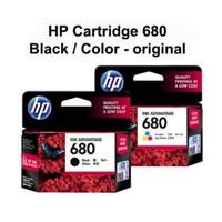 Tinta HP 680 Black Original Cartridge (F6V27AA)