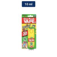 One Push Vape 30 Hari Obat Nyamuk Spray 1X Semprot Green Tea 10ML