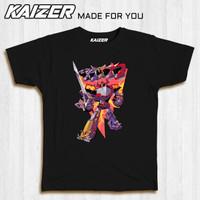 KAIZER RH-1124 Kaos Megazord Power Ranger Sketch