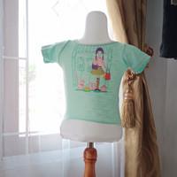 baju anak atasan wanita LD50 panjang 47 merk Justice