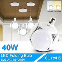 lampu bohlam led E27 40w bentuk UFO/ bola super terang
