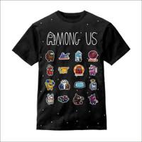 Baju Anak Kaos Anak 3D AmongUs karakter - S - S