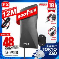 Antena TV Digital Analog Indoor / outdoor PX DA-5900B Kabel 12 Meter