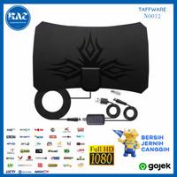 Antena TV Digital Indoor Taffware DVBT2 Plus Amplifier Lebih Jernih