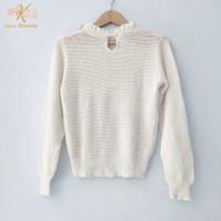 Thrift Blouse Kaos Rajut Wanita Atasan Knitwear Import Premium - GK001