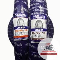 Mizzle M52 80/90 & 90/90-14 Sepasang Ban Matic Tubetype (non tubeless)