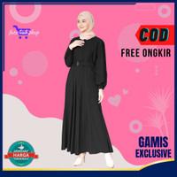 Atasan Baju Gamis Wanita Muslim Cantik Murah Kekinian Busui friendly