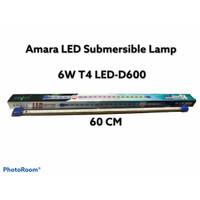 LAMPU CELUP AQUARIUM 60 CM AMARA T4 LED-D600