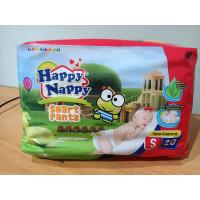 happy nappy popok bayi smart pants ukuran S isi 20 pcs
