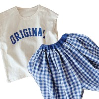 Baju Anak Perempuan Fashion Import Korea Style - ORI + GI Set - S